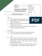 Standar Operasional Prosedur - SMP NFBS