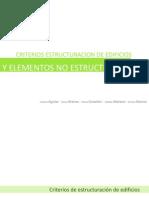 Criterios de Estructuracion de Edificios