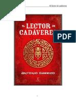 El Lector de Cadáveres - Antonio Garrido