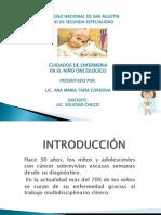 cuidados oncologicos pediatrico