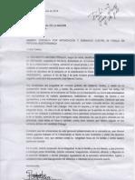 Denuncia Rigoberto Pitalua