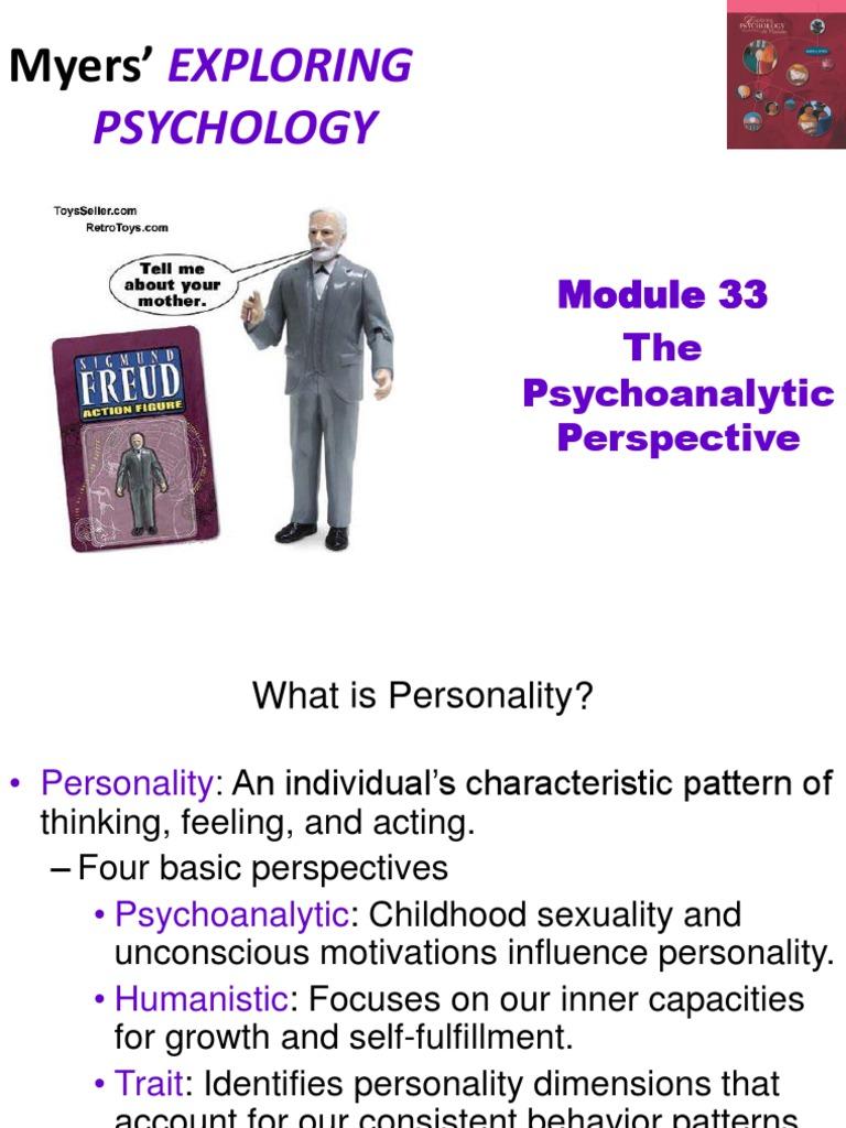 psychoanalytic perspective psychology