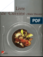 Grand Livre de Cuisine Dalain Ducasse - Mditerrane