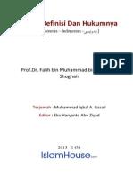 Id Safar Definisi Dan Hukum