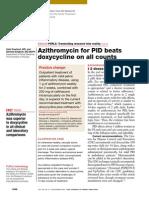Azithromycin vs. Doxycycline