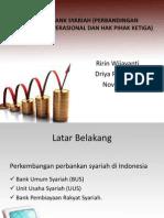 Efisiensi Bank Syariah (Perbandingan Pendapatan Operasional Dan Fix