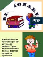 DICCIONARIO ppt