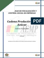 Cadena Productiva Del Azucar