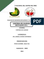 Control de Calidad- Brynajom -Sintia