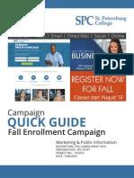 Fall 2014 Campaign Quick Guide