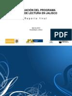 Evaluación del Programa Salas de Lectura en Jalisco