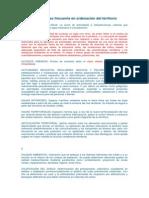 URBANISMO. Vocabulario de Uso Frecuente en Ordenación Del Territorio