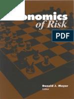 The Economics of Risk