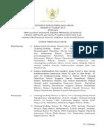 Peraturan KPU Nomor 07 Tahun 2013