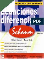 Ecuaciones Diferenciales - Richard Bronson - Schaum