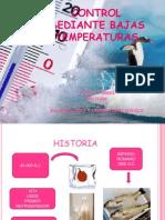 Control Mediante Bajas Temperaturas