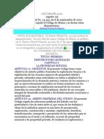 Código de Minas de Colombia - Ley 685 de 2001