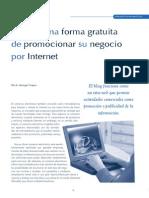 El Blog - Una Forma Gratuita de Promocionar Su Negocio Por Internet