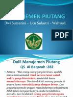 Presentasi Manajemen Piutang