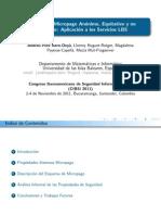 10. Esquema de Micropago Anónimo, Equitativo y No Rastreable Aplicación a Los Servicios LBS