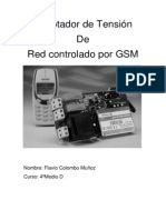 Adaptador de Tensión Controlado Por GSM