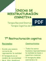 Tecnicas de Reestructuracion-cognitiva