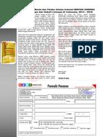 Studi Potensi Bisnis dan Pelaku Utama Industri MINYAK GORENG (Sawit, Kelapa dan Nabati Lainnya) di Indonesia, 2014 – 2018
