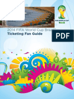 Brazil 2014 Fifa world cup tickets and information