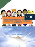 Încălcarea Drepturilor Copilului Oglindite În Literatura Română Şi (2)