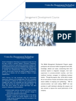middle management development program