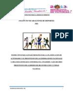 Instructivos Para Planificacion y Presupuesto de Federaciones.