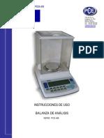 Manual Balanza Analisis Pce Ab
