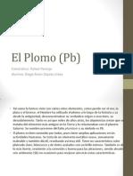 El Plomo (Pb)