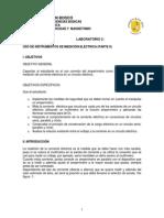 Uso de Instrumentos de Medición Eléctrica Parte 2
