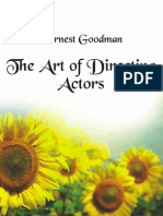 The Art of Directing Actors 25 Pages