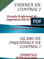 Silabo de Ingeniería de Control I