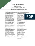 Schoenberg Noche Transfigurada Libretto