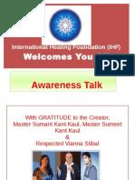 ThetaHealing (Awareness Talk)