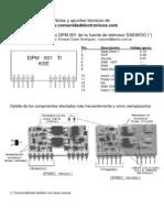 8982 Reparacion Modulo-DPM001 CE