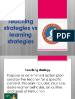 learning strategies vs teaching strategies umg ttii - copia