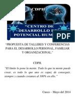 1 Propuesta de Talleres y Conferencias Para El Desarrollo Personal