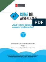 Fascículo de Comprensión y Producción de Textos Vii