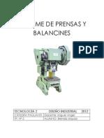95823279 Tp2 Prensas y Balancines