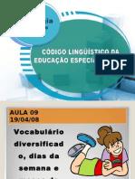 9 AULA VOCABULÁRIOS LIBRAS