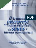 LIBRAS_Tradutor e Intérprete de Língua Brasileira de Sinais e Língua Portuguesa