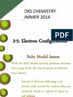 2-5 electron configurations slides