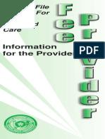 Fee Provider Brochure