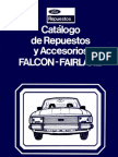 Catalogo Repuestos Ford Falcon