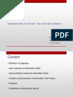 AutomationDesk Presentation