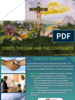 2nd Quarter 2014 Lesson 10 Christ, The Law and the Covenant